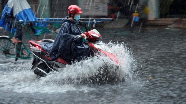 Từ tối 6/9, các tỉnh Bắc Bộ có mưa rào và dông trên diện rộng