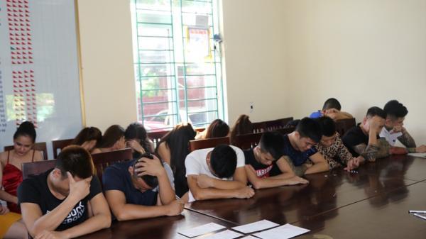 Vĩnh Phúc: Tiếp tục báo động tình trạng thanh thiếu niên sử dụng m.a t.úy tập thể trong các quán karaoke, cơ sở lưu trú