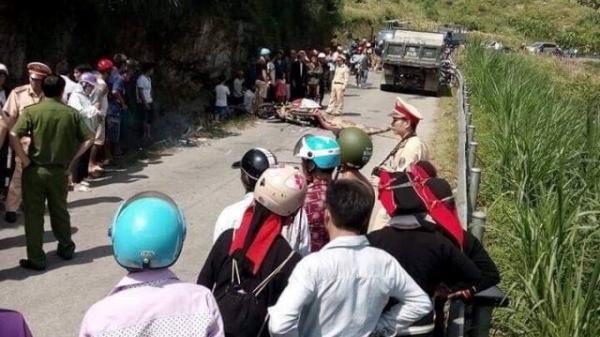 Tai nạn kinh hoàng ở Hà Giang: 3 mẹ con cùng bị cán tử vong khi vượt ôtô