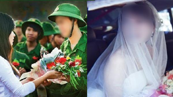 Ngày đi nghĩa vụ về cũng là ngày bạn gái lên xe hoa, chàng trai vẫn quân tử gửi lời chúc phúc