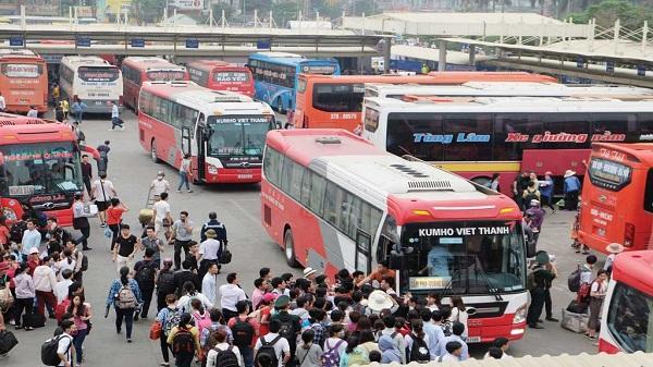 Sẽ điều chỉnh nhiều tuyến vận tải khách liên tỉnh đi qua Hà Nội