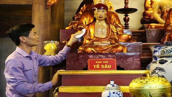 Cụ Tổ Sâu - vị quốc sư có công lớn xây chùa, giúp dân