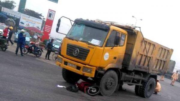 Hải Dương: Xe ben tông xe máy từ phía sau khiến một nạn nhân tử vong tại chỗ