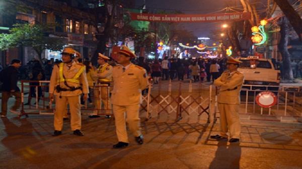Hải Dương: Cấm xe cộ vào đường Trần Hưng Đạo đêm Noel