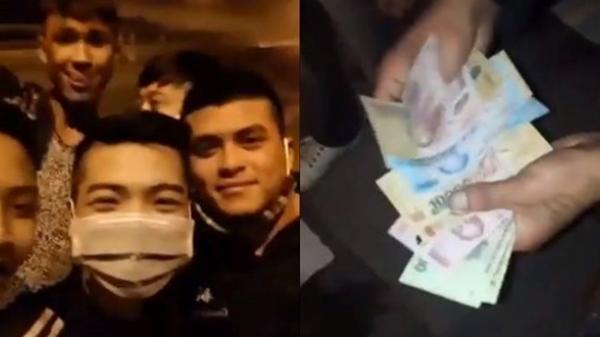 Nhóm thanh niên cầm hung khí chặn ô tô xin tiền có thể chịu mức phạt nào?