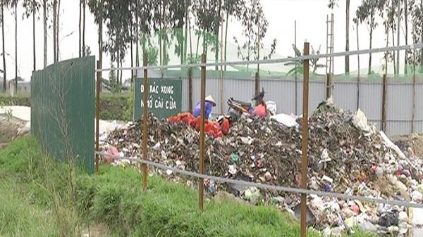 Hải Dương: Lấy trộm 64 tấm tôn quây khu bãi rác