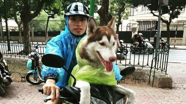 Chàng trai 9X Hải Dương chuyên đi phượt với cún cưng, thà nhịn ăn chứ không để boss đói