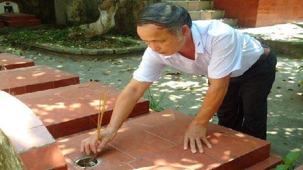 Cẩm Giàng - Hải Dương: Người đàn ông hơn 40 năm chăm sóc mộ phần liệt sĩ