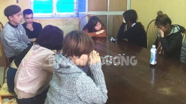 Công an Hải Dương bắt giữ 12 người sử dụng ma túy trong quán karaoke