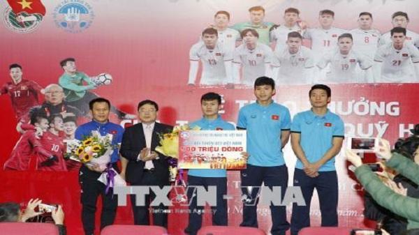 CHOÁNG: Tiền thưởng U23 Việt Nam sắp chạm mốc 24 tỷ đồng