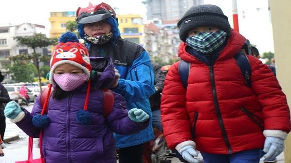 Rét dưới 10 độ, phụ huynh Hải Dương có thể chủ động cho học sinh nghỉ