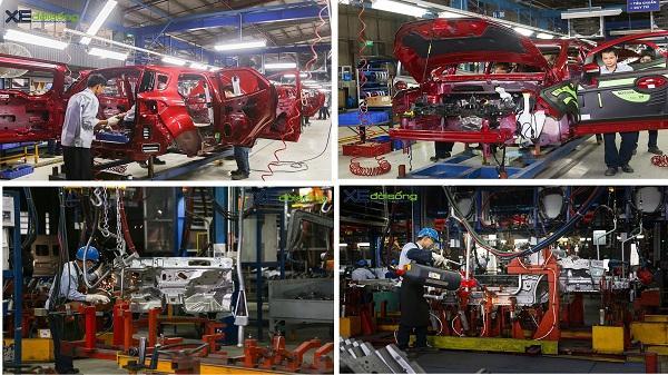 Chùm ảnh SIÊU ĐỘC lắp ráp Ford EcoSport 2018 mới trong nhà máy Hải Dương