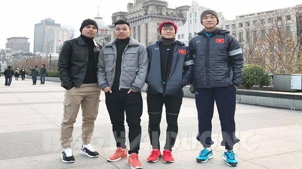 Bốn chàng trai Hải Dương ở đội bóng lịch sử