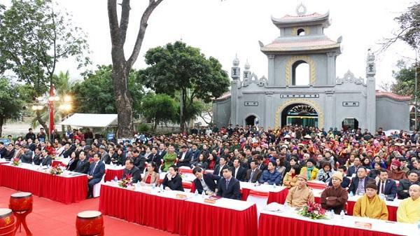 Kinh Môn tưng bừng khai hội xuân Mậu Tuất