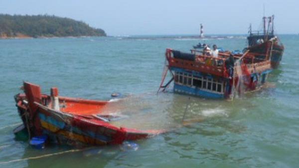 Tai nạn chìm tàu: Mẹ và con gái 2 tuổi quê Hải Dương chết đuối thương tâm trên biển