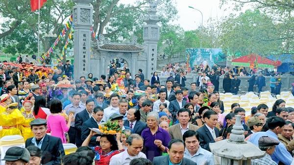 Gia Lộc (Hải Dương): Khai hội đền Quát mùa xuân 2018