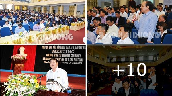 Hải Dương: Lãnh đạo tỉnh đối thoại với doanh nghiệp