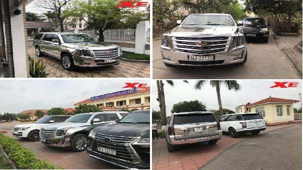 'Khủng long' bạc Cadillac Escalade Platinum biển Hải Dương khiến bao người lóa mắt