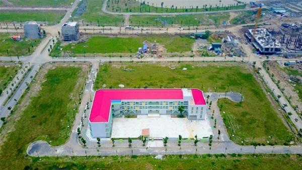 Kinh Môn xây dựng công trình quảng trường khu liên hiệp thể thao