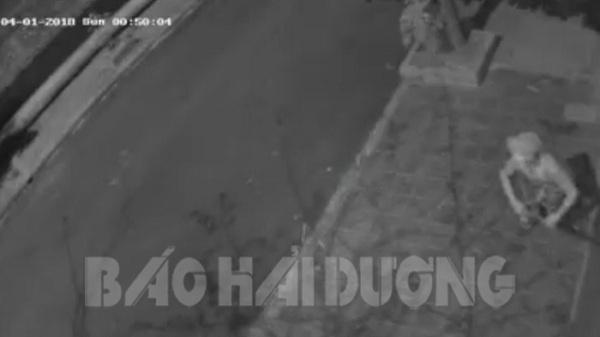 Hải Dương: Trộm táo tợn cạy cửa nhà dân ở phố Vũ Văn Dũng