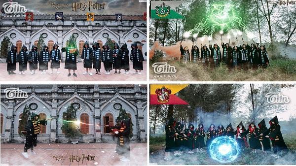 Kỷ yếu Harry Potter đầy ma mị của teen Hải Dương