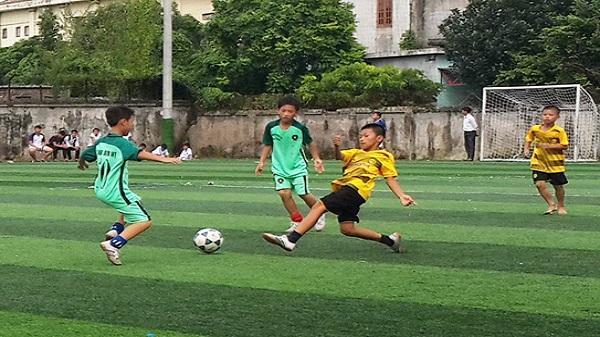 Giải bóng đá U10 huyện Tứ Kỳ: Xã Cộng Lạc giành ngôi vô địch