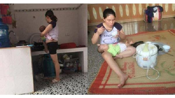 """Mẹ 9x Hải Dương gây sốt với câu chuyện """"Đừng vì cho miếng cơm, mà nghĩ ở nhà chăm con là ăn bám"""""""
