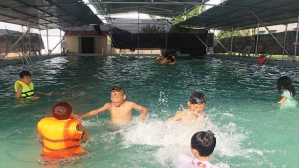 Ninh Giang: Hỗ trợ 400 triệu đồng xây dựng 4 ao bơi hợp vệ sinh