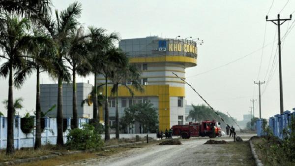 Đang điều tra vụ đánh người, cướp ô tô trước cổng khu công nghiệp Lai Vu