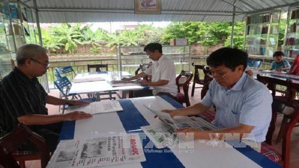 Độc đáo khu vườn đọc sách miễn phí tại Hải Dương