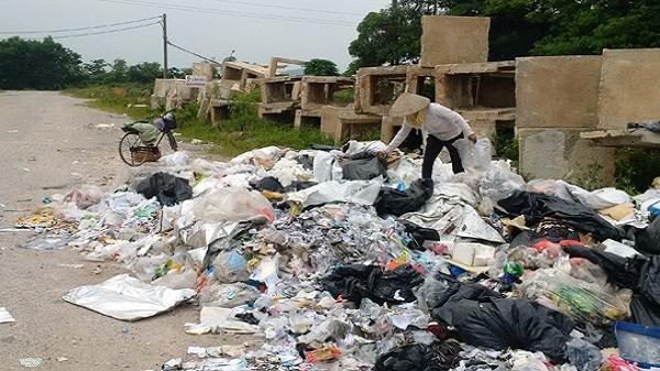 Chí Linh loay hoay xử lý rác thải sinh hoạt