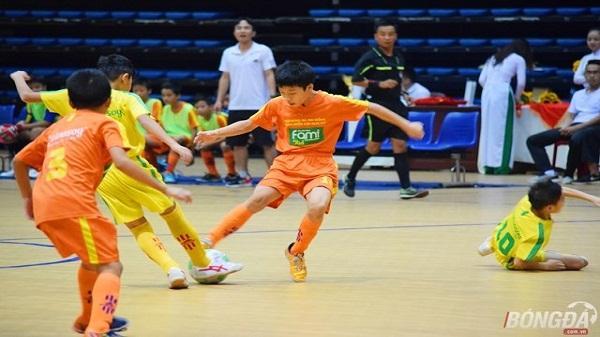 U11 Gia Bảo Hải Dương ngậm ngùi nhận huy chương bạc Giải bóng đá nhi đồng