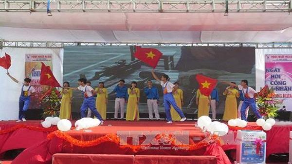 Hải Dương: Hàng nghìn người lao động tham gia Festival công nhân