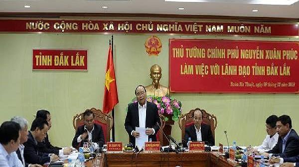 Thủ tướng: Đắk Lắk chưa có 'quả đấm thép' để phát triển kinh tế