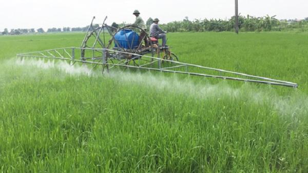 """Bất ngờ với sáng chế """"máy phun thuốc sâu"""" của nông dân Hải Dương"""