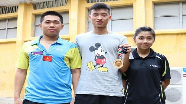 Tự hào tuyển thủ quê Hải Dương tạo kỳ tích mới cho bóng bàn Việt Nam