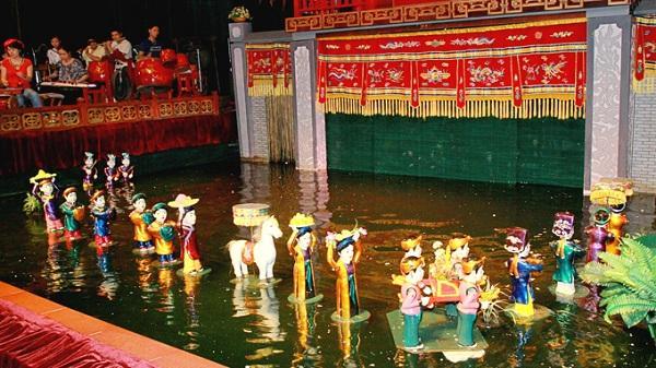 Múa rối nước tại Gia Lộc - sản phẩm đặc sắc của du lịch Hải Dương