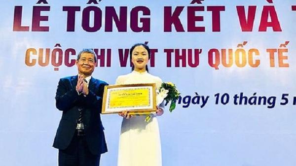 Tự hào: Lần thứ 3 học sinh Nam Sách – Hải Dương đạt giải Nhất viết thư UPU