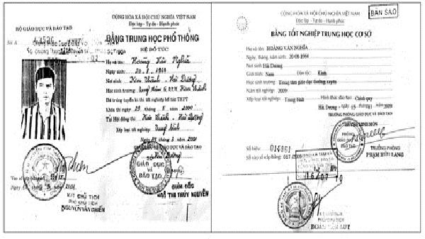 Bằng tốt nghiệp THPT của Chủ tịch xã Tam Kỳ không hợp pháp