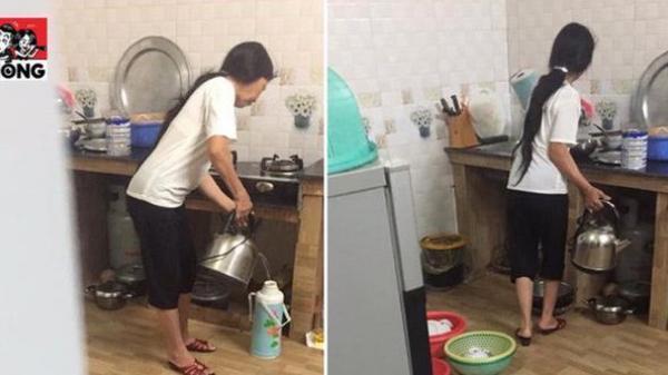 Cầm gậy rình chuột lúc 4 giờ sáng, chàng trai Hải Dương lặng người khi thấy cảnh tượng trong bếp