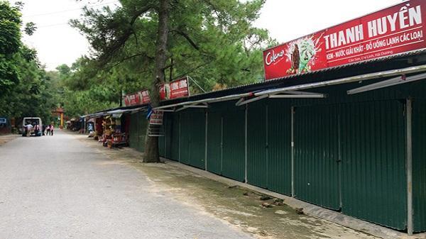 Di dời hàng quán ra khỏi khu di tích Côn Sơn