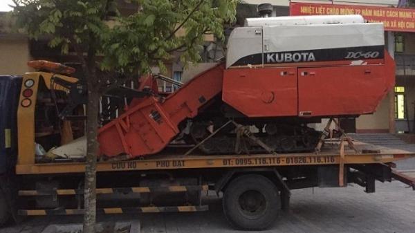 Vào Thanh Hóa trộm máy gặt mang vê quê Hải Dương cất giấu