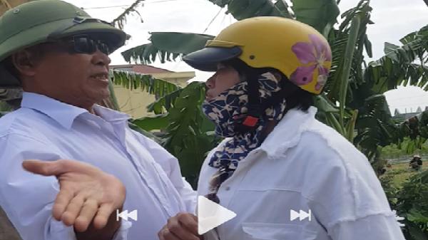 CLIP: Trưởng công an xã thẳng tay tát phụ nữ