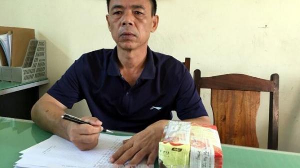 Hải Dương: Bắt đối tượng vận chuyển 3 bánh heroin