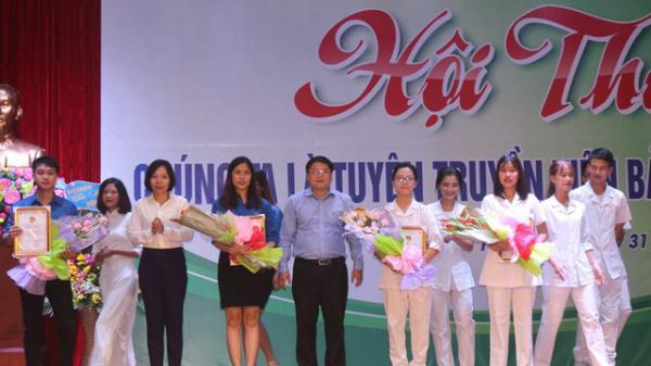 Hải Dương: Sinh viên hát chầu văn tuyên truyền về bảo hiểm y tế