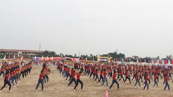 Kim Thành khai mạc Đại hội Thể dục thể thao