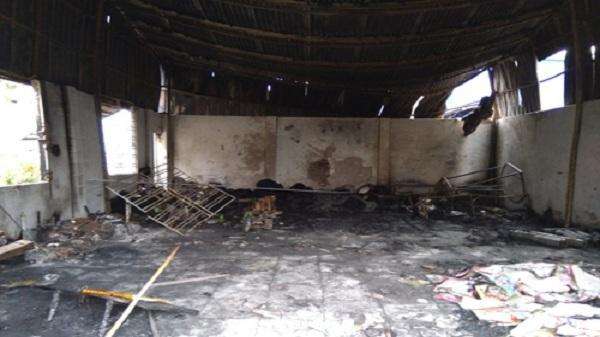 Hải Dương: Kinh hoàng vụ cháy nhà xưởng ở Đoàn Tùng