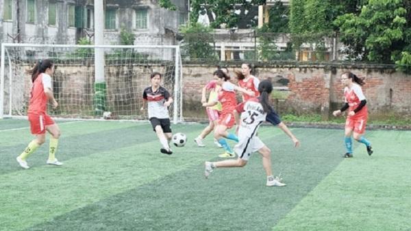 Hải Dương: Nở rộ phong trào bóng đá nữ