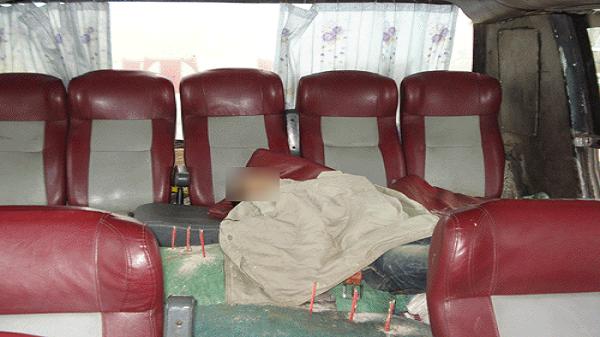 Xe khách Hải Dương phát hiện 1 người đàn ông tử vong ngay trên xe
