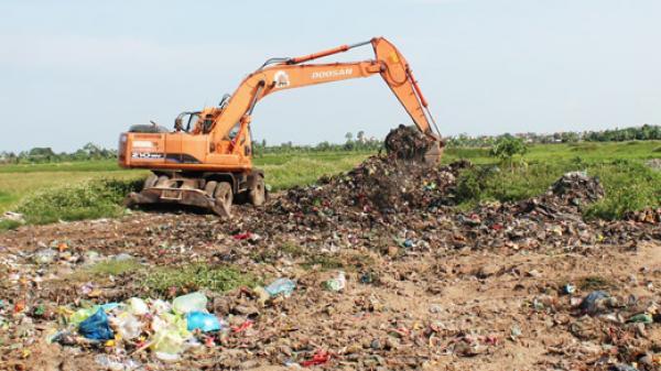 Hải Dường - bãi rác gây ô nhiễm môi trường